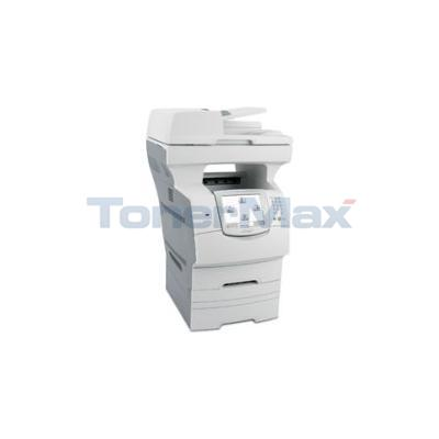 Lexmark X-646dte MFP